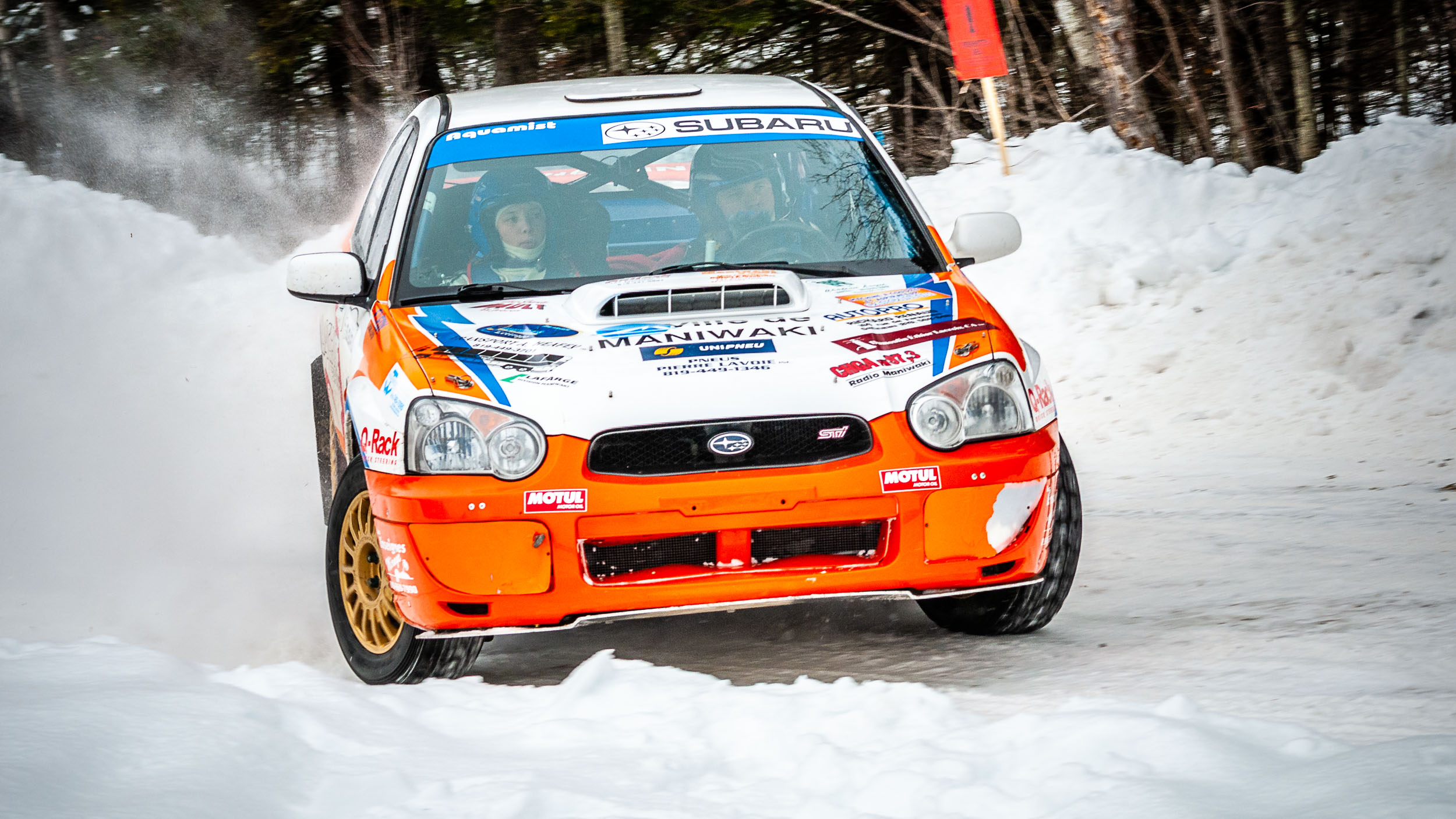 Perce-Neige Rally, Maniwaki, Quebec, 2008